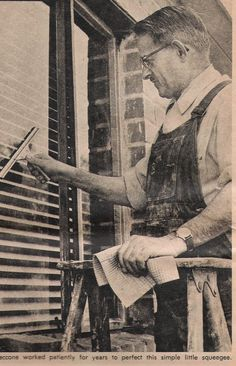 Ettore Steccone came to the U.S. in 1922 and chose window washing as his profession. He went on to patent a revolutionary new squeegee whose design is still in use today.