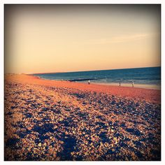 Brighton Beach, I remember the pebbles, beer and super 8 filming on a cloudy day in May ;)