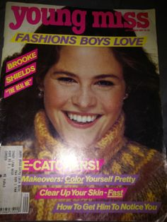 September 1981 cover with nineteen-year-old Ally Sheedy