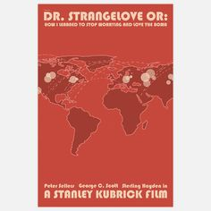 Dr Strangeglove Print 16x24  by Claudia Varosio  $44  http://fab.com/sale/5844/  @Kevin Detwiler - you'd like a lot of these actually...