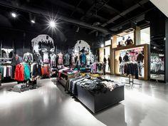 Olymp & Hades Leipzig Shop Design, Ladenflächen  Corneille Uedingslohmann Architekten