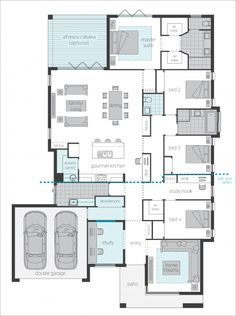 Vienna Upgrade floor plan by McDonald Jones