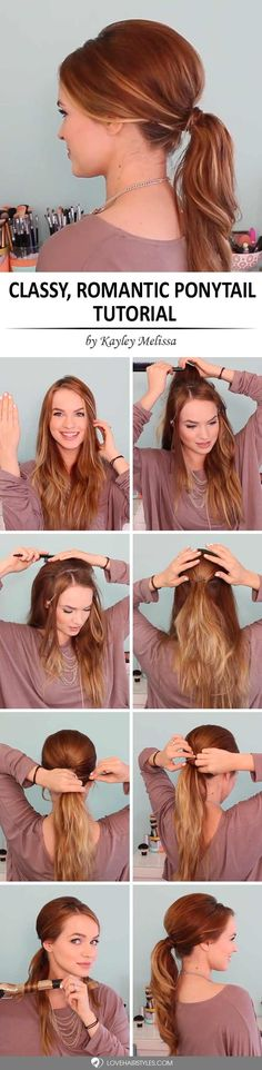 Spice Up Your Pony: 4 Unique Ways How to Do a Ponytail ★ See more: http://lovehairstyles.com/unique-ways-how-to-do-a-ponytail/