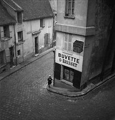 Marcel Bovis - Buvette O. Brisset, 1934