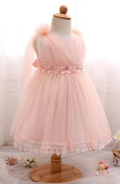 Baby Toddler Girl 1 Year Birthday Party Dress