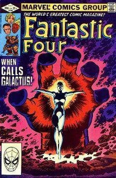 Fantastic Four #244    art: John Byrne