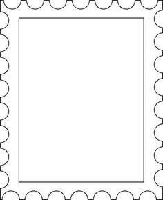 werkblad zelf postzegel maken - Google zoeken