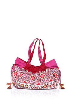 Tasche von Esprit in Ethno-Look