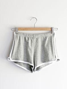 Tautmun - TOWY MINI SHORTS - HEATHER GREY, $13.99 (http://www.tautmun.com/towy-mini-shorts-heather-grey/)