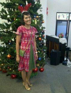 Oni Christmas Dress