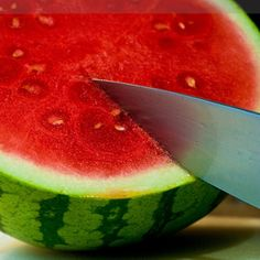 Fresh Cold Watermelon.  A Summer & Vacation Bible School staple!