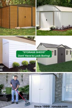 Check out our stunning and attractive looking #storagesheds