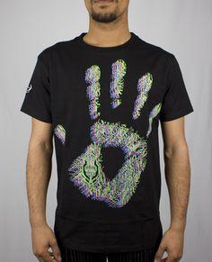 Mens Talk To The Hand 3D T-Shirt from Cyberdog UK Ltd
