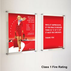 These indestructible frames are all made in 5mm Polycarbonate which is incredibly strong as well as meeting the toughest of standards for impact and fire. (compliant to BS 476 part 7)  These frames are suitable for all types of schools and public areas.  Simple and easy to replace the image, just unscrew the wall mount and remove the panels to insert your new image. Poster Frames, Frames On Wall, Clear Perspex, Photo Picture Frames, Off The Wall, Airports, Hospitals, Make You Smile, New Image