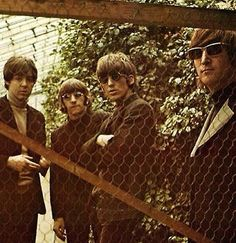 Paul McCartney, Richard Starkey, George Harrison, and John Lennon (Rain- Promotional Film)