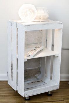 Fruit boxes like shabby chic tray # pallet furniture Crate Furniture, Diy Pallet Furniture, Furniture Ideas, Wood Crates, Wood Pallets, Wooden Boxes, Palette Diy, Diy Home Decor, Room Decor