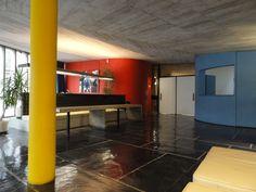 Le Corbusier, Maison du Brésil, interior