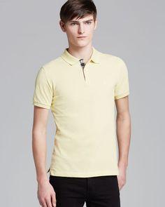 Burberry Brit Short-Sleeve Slim Polo