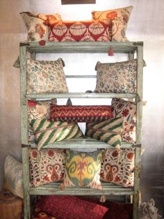 gorgeous persian seat cushions