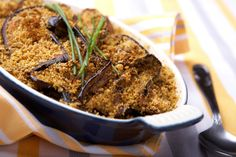 melanzane gratinate al forno light