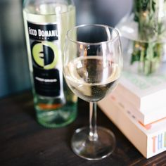 A refreshing glass of our Pinot Grigio the perfect way to relax at home!
