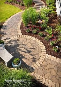 Small front yard landscaping ideas will help you to get what you want for your front yard. Having good look of front yard is all people's dream. It will become the first impression for all people who come to your… Continue Reading → Small Front Yard Landscaping, Backyard Landscaping, Modern Landscaping, Wisconsin Landscaping Ideas, Stone Landscaping, Backyard Plants, Small Patio, Diy Garden, Garden Paths
