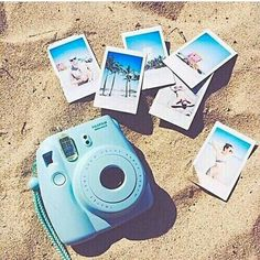 Celebrate summer with Costes! Michelle - Instax Camera - ideas of Instax Camera. Trending Instax Camera for sales. - Celebrate summer with Costes! Michelle Kluit x Costes Fashion Poloroid Camera, Instax Mini Camera, Fujifilm Instax Mini, Mini Polaroid, Summer Pictures, Beach Pictures, Girl Pictures, Polaroid Pictures, Polaroids