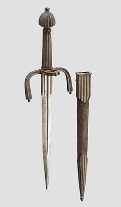 art-of-swords: Rapier and Parrying Dagger Made... - Front Toward Enemy