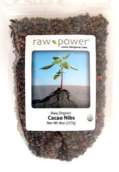 Raw Power. Nibs de cacao. Cacao Chocolate, Protein Power, Cacao Nibs, Food Packaging, Organic Recipes, Canning, Dinner, Dining, Home Canning