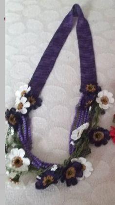 Crochet Necklace, Jewelry, Jewlery, Jewerly, Schmuck, Jewels, Jewelery, Fine Jewelry, Jewel