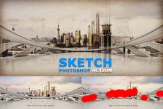 Sketch Photoshop Action by Grafx_Forge on Creative Market