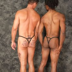 Double the pleasure with your choice of flavors. Tiny rear double G-string design with a male enhancement front bulge pouch from www.koalaswim.com Made in the USA by spandex freaks!