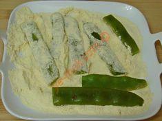 Mısır Unlu Taze Fasulye Kızartması Tarifi Yapılış Aşaması 7/12 Asparagus, Yogurt, Meals, Vegetables, Roman, Food, Studs, Meal, Essen