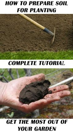 Complete tutorial for preparing your soil for planting in the spring! This will pay off huge once your start the harvest in your garden! Complete tutorial from http://www.handymantips.org/prepare-soil-for-planting/