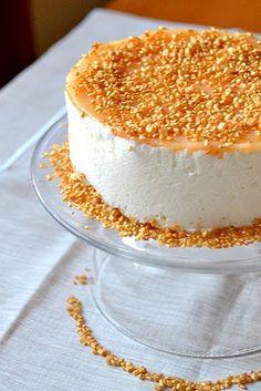 Mini cheesecake alla ricotta e marmellata al pompelmo rosa.  http://dolciagogo.blogspot.com.es