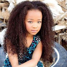 How can a child this young be so gosh dang Beautiful?!? #littlegirlhairstyles