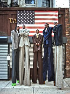 Welcome To The Magical World Of International Stilt-Walkers