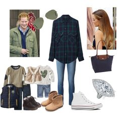 Family Day out in London at the Science Museum, Shopping and Lunch by royal-fashion on Polyvore featuring polyvore, fashion, style, Zara, J Brand, Converse, Longchamp, Ray-Ban, Gap and Fendi