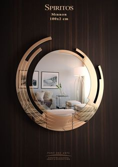 6 Knowing Hacks: Wall Mirror Above Couch Galleries hanging wall mirror foyers.Wall Mirror Above Couch Galleries glass wall mirror interior design. Wall Mirror With Shelf, Round Wall Mirror, Mirror Art, Wall Mirror Ideas, Wall Mirror Design, Modern Mirror Design, Modern Mirrors, Mirror Ceiling, Unique Mirrors