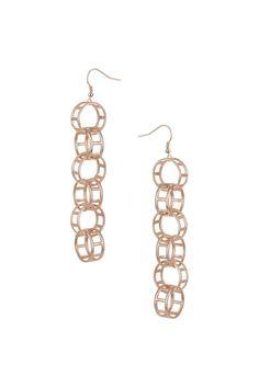 Link Drop Earrings - Jewellery - Bags & Accessories - Topshop