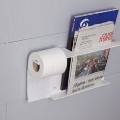 Porte Revue et Rouleau Papier WC