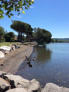 Lago di Bolsena ,Italia
