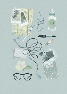Illustrations by Babeth Lafon on www.inspiration-now.com
