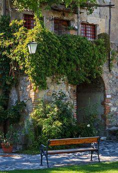 Ivy Balcony, Rome, Italy