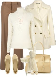"""Winter white #2"" by madamedeveria ❤ liked on Polyvore"