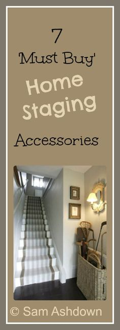 7 must-buy home staging accessories - Home Truths Want to know which accessories will help you sell your house? Click and find out! Sell My House, Up House, Selling Your House, Real Estate Staging, Real Estate Tips, Design Entrée, Do It Yourself Design, Home Staging Tips, House Staging Ideas
