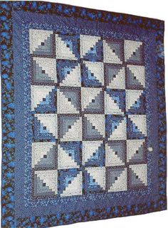 Looking for quilting project inspiration? Check out Log Cabin quilt 2004 by member towodi. - via @Craftsy