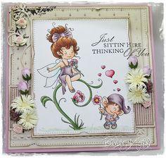 Enchanted Love - Digital Stamp