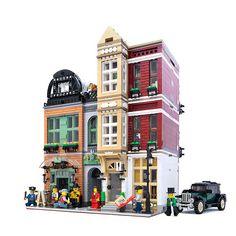 Narrow Modular Buildings | ArchBrick | LEGO Architecture Blog