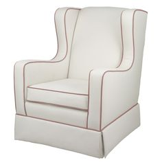 Oilo Penelope Glider in Pearl and Petal Pink